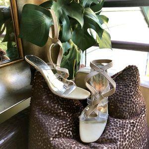 Donald J Pliner Couture Vintage Strappy Heels